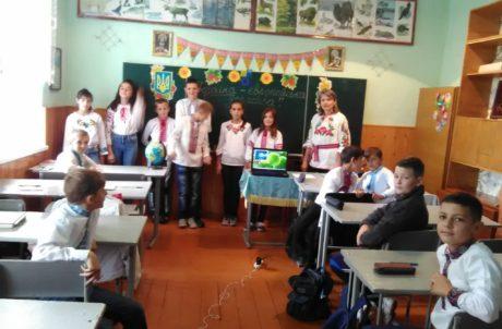 Перші навчальні дні в Рудянській школі