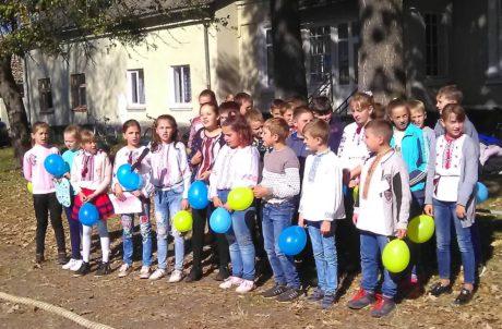 """Козацькі забави 2018"" у Рудянській ЗОШ І-ІІІ ступенів"